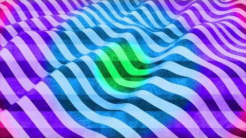 虹色のストライプバックグラウンド CG動画