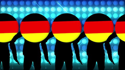 Germany dance video Animation