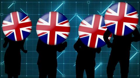 England dance video Animation