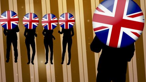 England dance video Videos animados