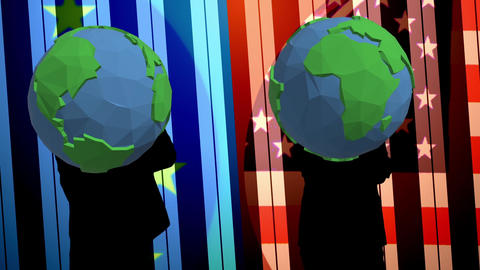 Earth dance video Animation