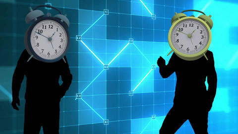 clock dance video Animation