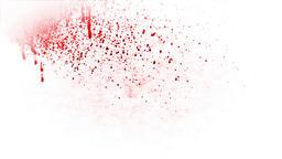 Blood Splash against white Animation