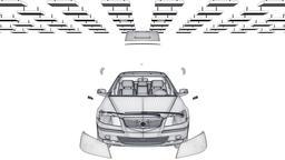 Car sketch assembling, loop, Alpha Animation