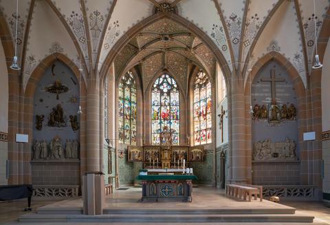 Parish church Saint Matthaeus, Bad Sobernheim, Germany Photo