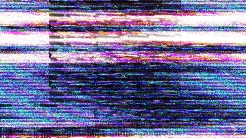 VHS Glitch Transition 03 Animation