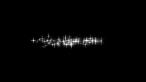 パーティクル03-白色 CG動画