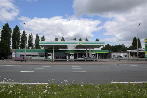 BP Tank Station At Weesp The Netherlands 20-7-2020 フォト