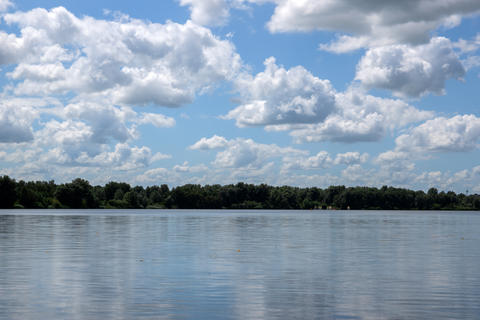 Clouds Above The Gaasperplas At Amsterdam The Netherlands 20-7-2020 フォト