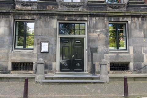 Entrance Of The Koninklijke Nederlandse Akademie Van Wetenschappen Building At Amsterdam The フォト