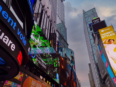 Times Square New York city USA フォト