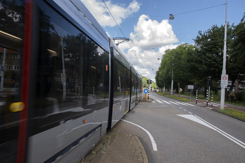 New Tram At Amsterdam The Netherlands 20-7-2020 フォト