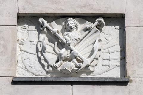 Ornament On The Scheepvaartsmuseum At Amsterdam The Netherlands 22-7-2020 フォト