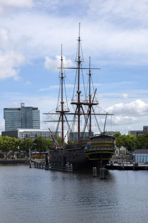 VOC Ship The Doen At The Scheepvaartmuseum At Amsterdam The Netherlands 22-7-2020 フォト