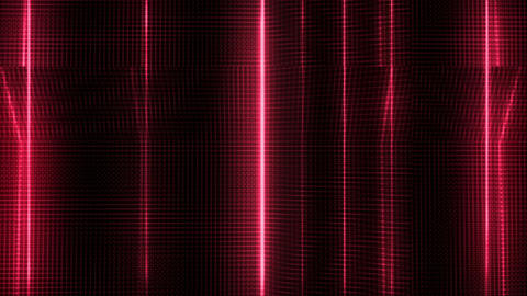 Red Futuristic Abstract Background Animation
