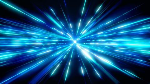 Blue Space Light CG動画