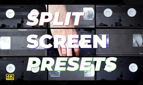 Spit Screen Presets 4K Premiere Proエフェクトプリセット