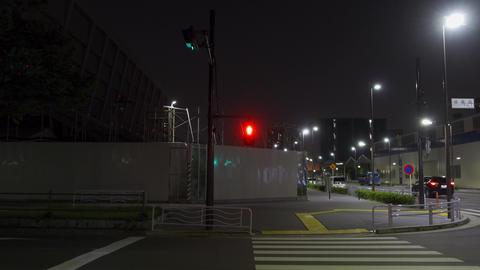 Tokyo Aquatics Center Night View021 Live Action