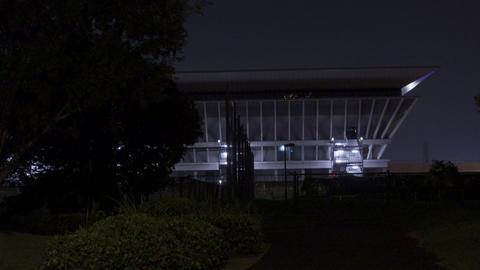 Tokyo Aquatics Center Night View031 Live Action
