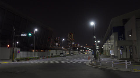 Tokyo Aquatics Center Night View005 Live Action