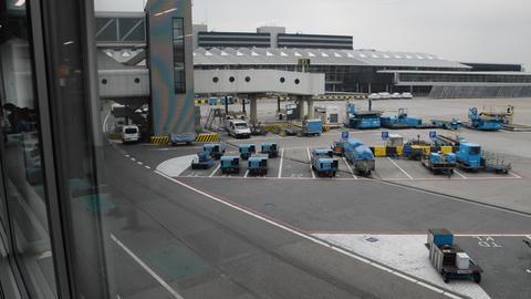 KLM Airplane At Schiphol The Netherlands 2015 ライブ動画