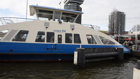 Leaving Amsterdam North By Ferry At Amsterdam The Netherlands 2019 ライブ動画