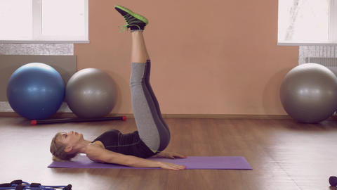 fit girl physical exercises abs ライブ動画
