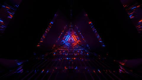 Dark Tri-Sided Endless Channel 4k uhd 3d illustration background フォト