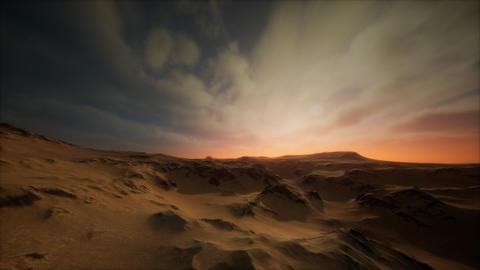 desert storm in sand desert GIF