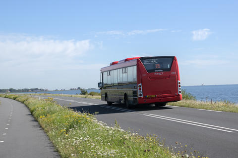 Bus 315 Going To Marken The Netherlands 6-8-2020 フォト