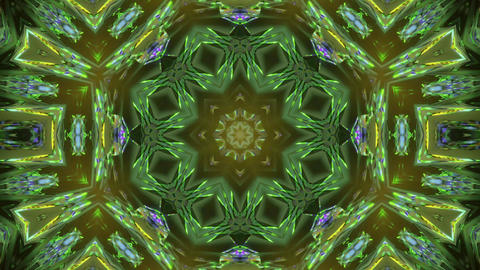 Bright Varicolored Entrance to Another Dimension 3d rendering vj loop Animation