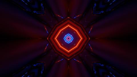 futuristic neon concert visual 3d rendering vj loop Animation
