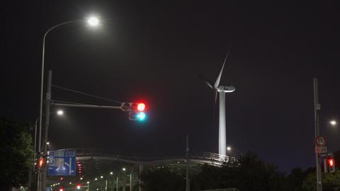 Wakasu Beach Park Windmill002 Acción en vivo