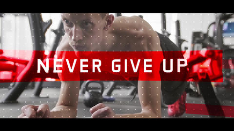 Gym Fitness Sport Opener After Effects Template