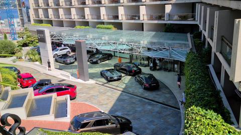 8K Luxury Cars Fairmont Hotel Live Action