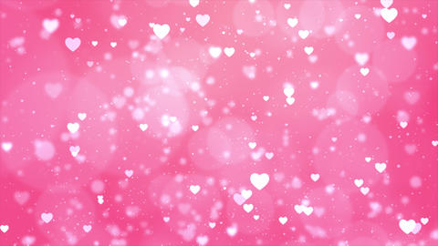 Valentine's day motion background loop Animation Live Action