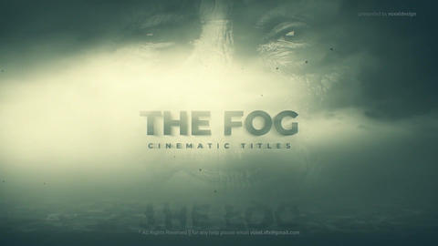 Fog Cinematic Title After Effects Template