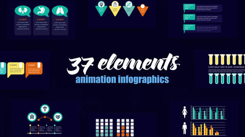 Infographics vol.57 After Effects Template