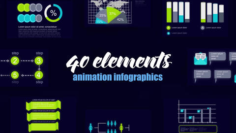 Infographics vol.44 After Effects Template