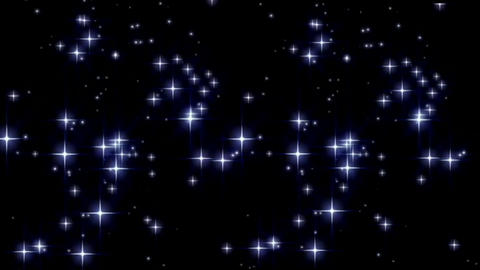 Twinkling stars motion graphics with night background Videos animados