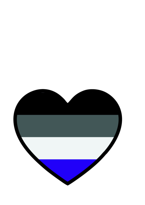 Asexuality people Vector