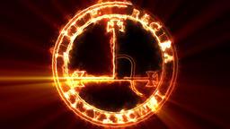Lilith Occult Symbol Loop Animation