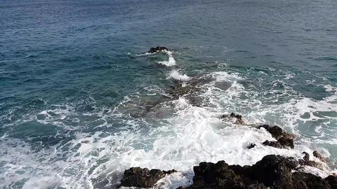 sea foam Footage
