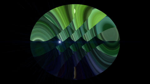 Fantastic video animation with moving object and light, loop HD Videos animados