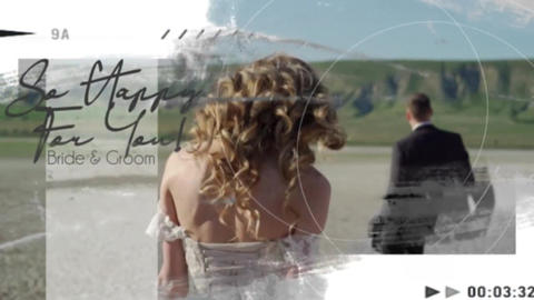 Wedding Frames Slideshow After Effects Template