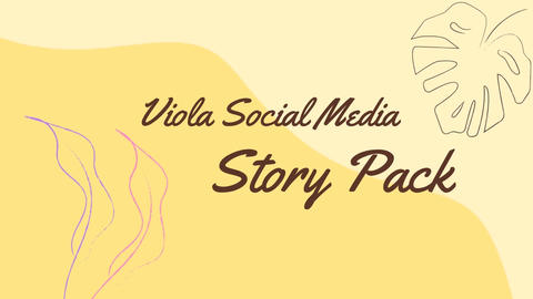 Viola Social Media Story Pack After Effects Template