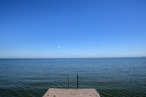 Pier At The IJselmeer The Netherlands 6-8-2020 Photo