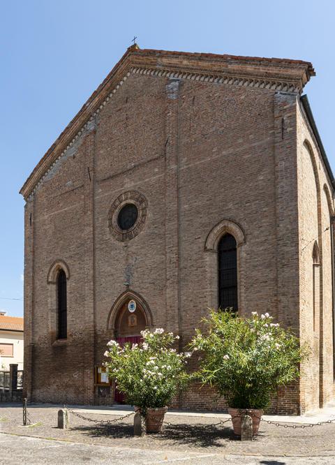 Church of Saint Mary 'Nuova' and Saint Blaise in Ferrara Photo