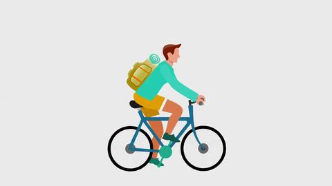 Cyclyst animation, 2d animation Animation