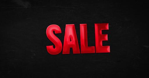 Sale. Logotype. 4K animation Animation